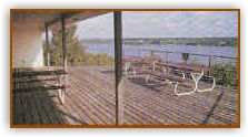 Deck over looking Lake Brownwood